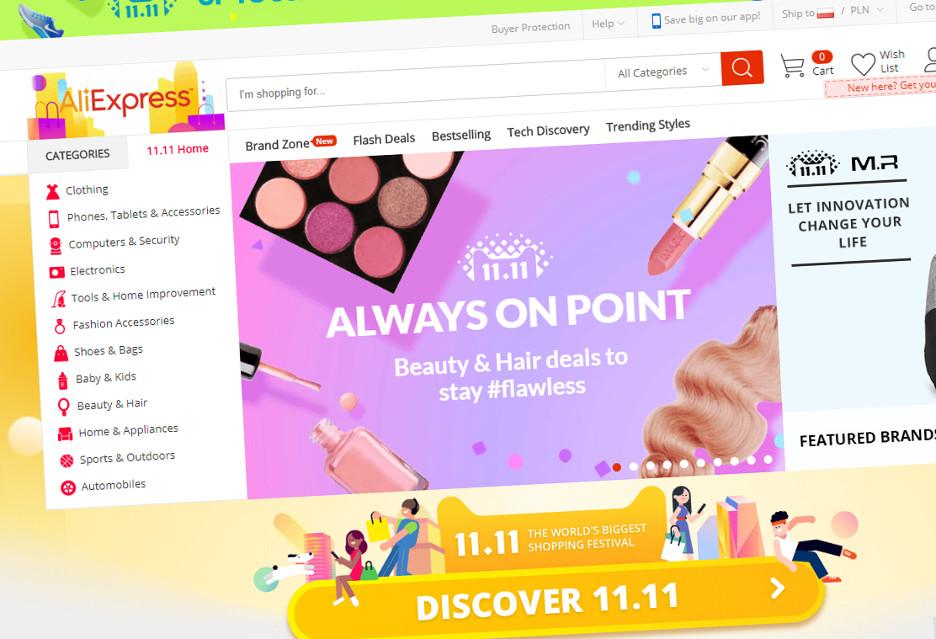 AliExpress obsłuży szybkie przelewy PayU