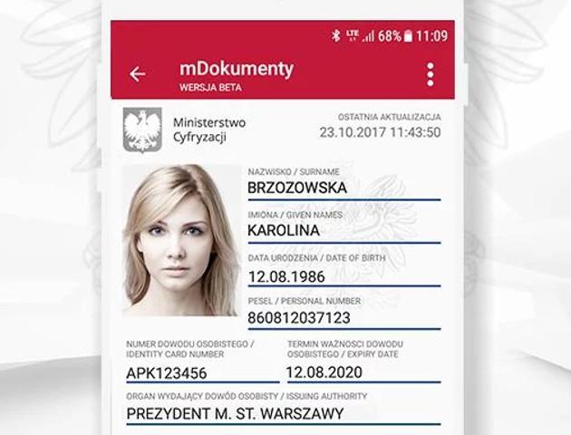 mObywatel - wszystkie dokumenty w jednej aplikacji