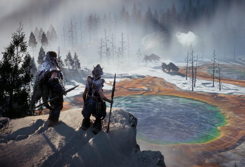 Kilka ujęć z mroźnego Horizon Zero Dawn: The Frozen Wilds