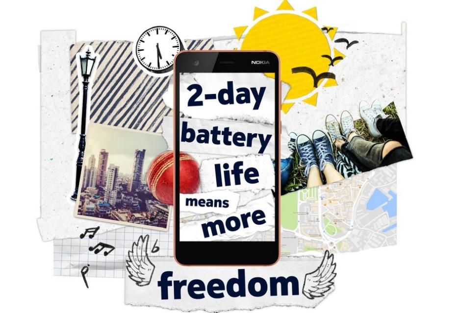 Nokia 2 oficjalnie - niska cena i dobra bateria, ale pamięci bardzo mało
