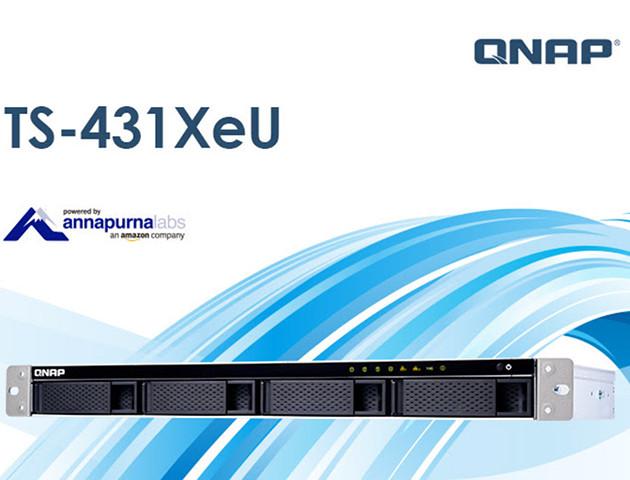 Serwer NAS w obudowie rack do małej firmy - QNAP TS-431XeU