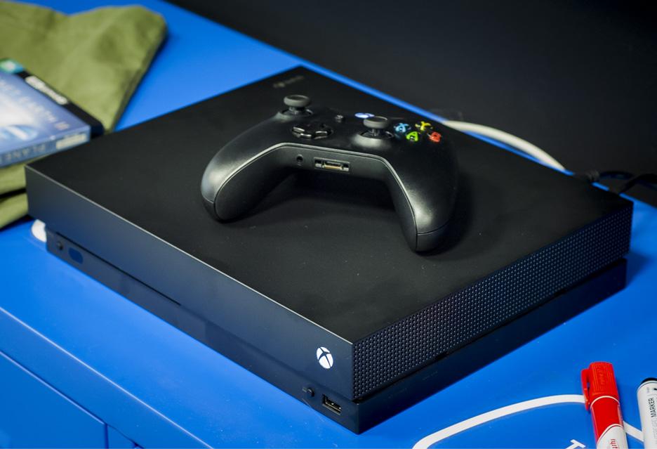 Xbox One X -  świetny wstęp do świata 4K  | zdjęcie 1