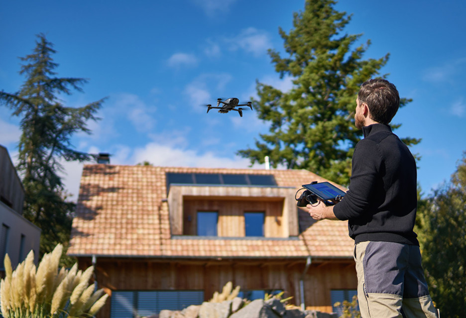 Dron do zadań specjalnych - Parrot Bebop-Pro Thermal