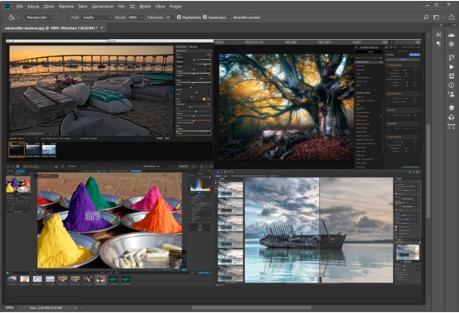 Zamiast Photoshopa i Lightrooma - co nowego na rynku (cztery ciekawe propozycje)