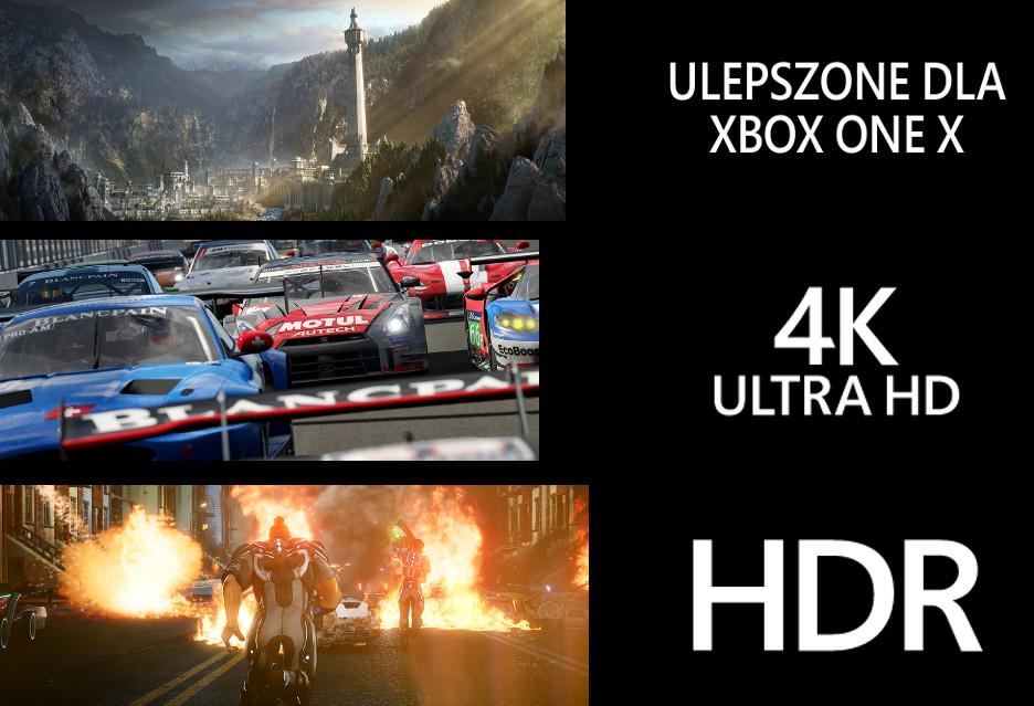 Xbox One X - oto gry, które będą lepiej wyglądać i działać na nowej konsoli