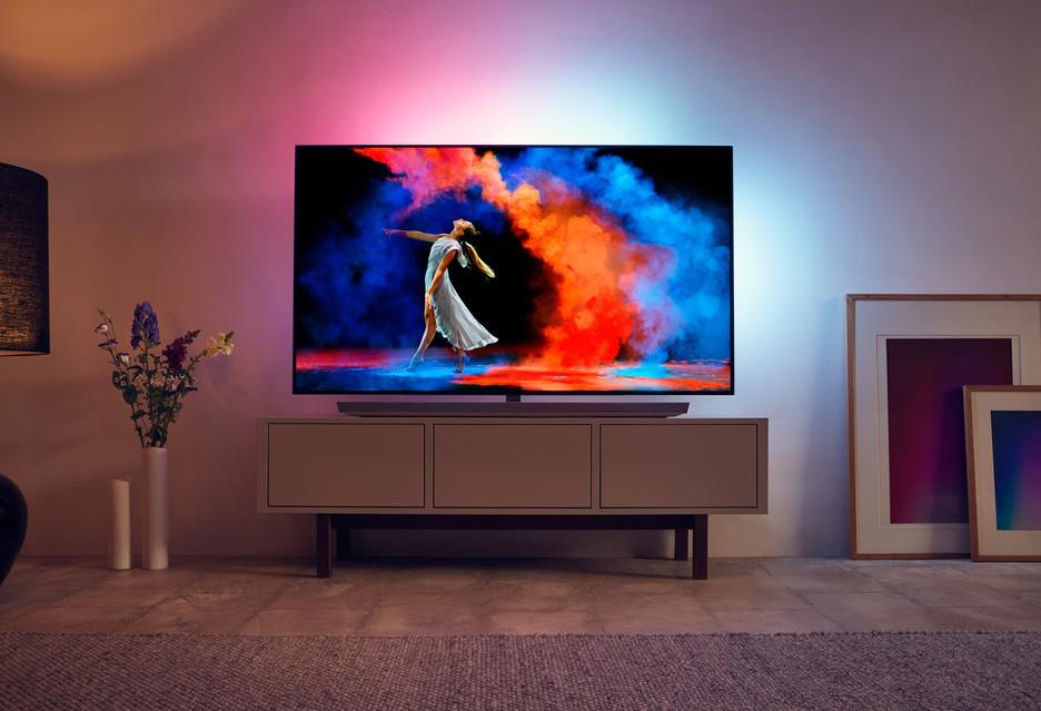 Nowy topowy telewizor OLED marki Philips