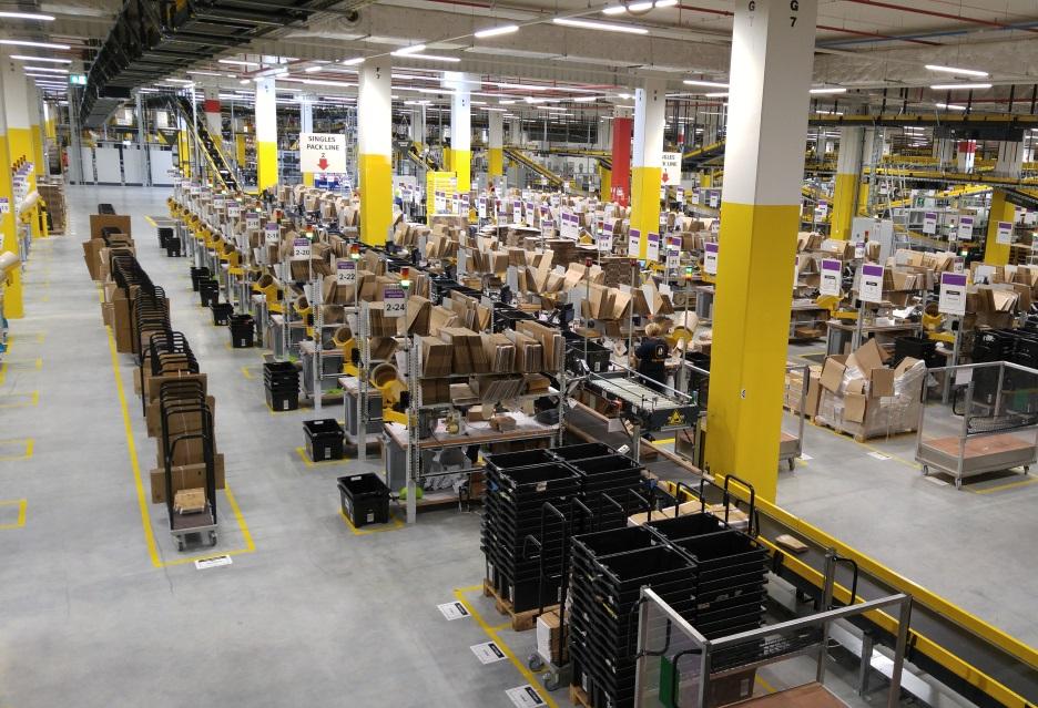 Amazon robotami stoi, a najwięcej znajdziemy ich w Kołbaskowie | zdjęcie 3