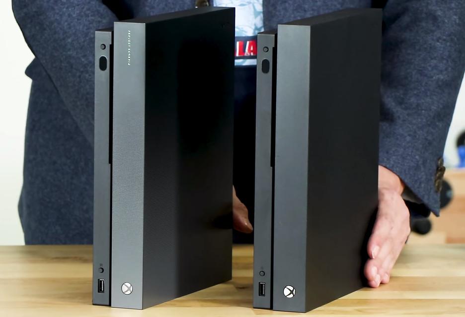 Porównujemy Xbox One X Project Scorpio ze zwykłą wersją konsoli