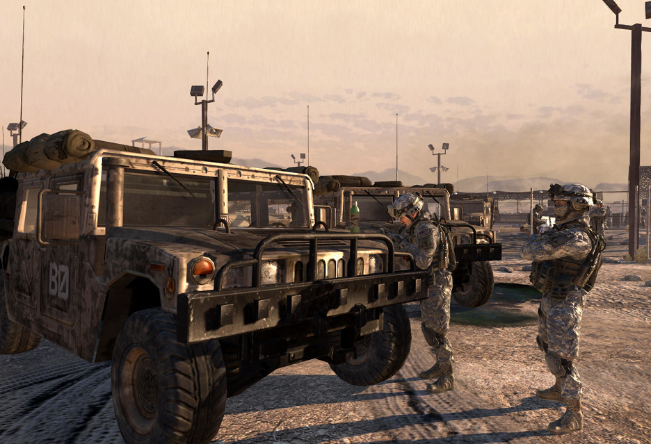 Wydawca Call of Duty pozwany przez producenta Humvee