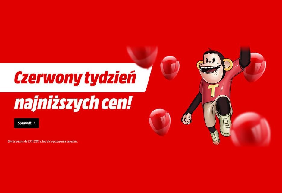 Czerwony tydzień najniższych cen w MediaMarkt.pl