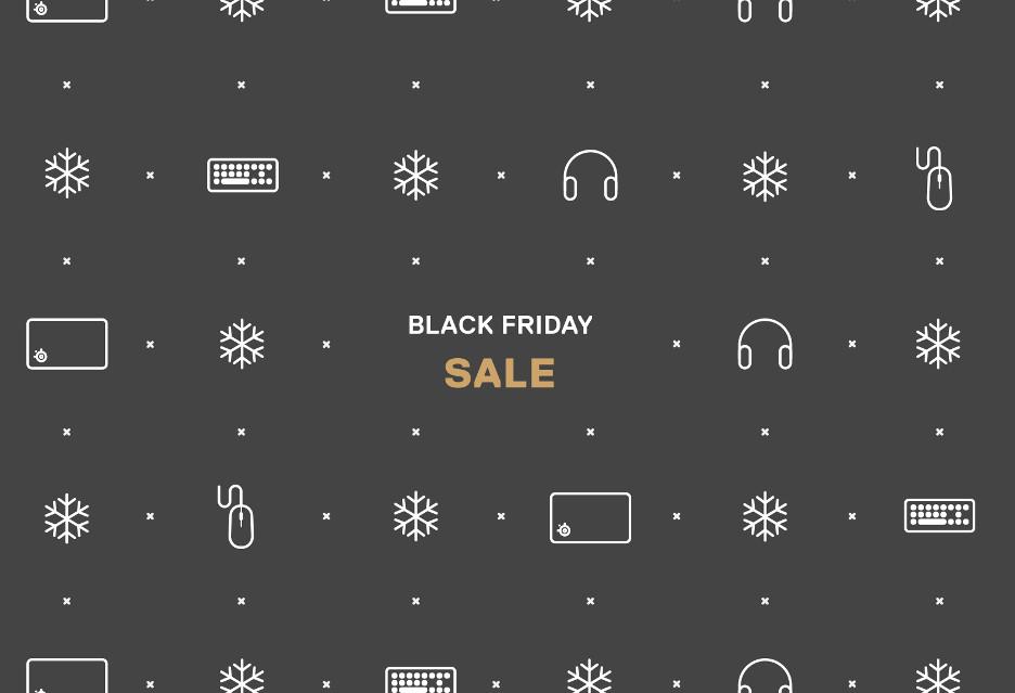 Black Friday ze SteelSeries - peryferia dla graczy w niższych cenach