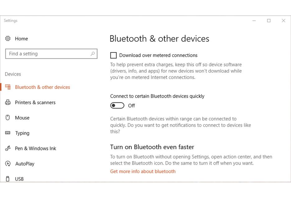 Windows 10 ułatwi parowanie przez Bluetooth