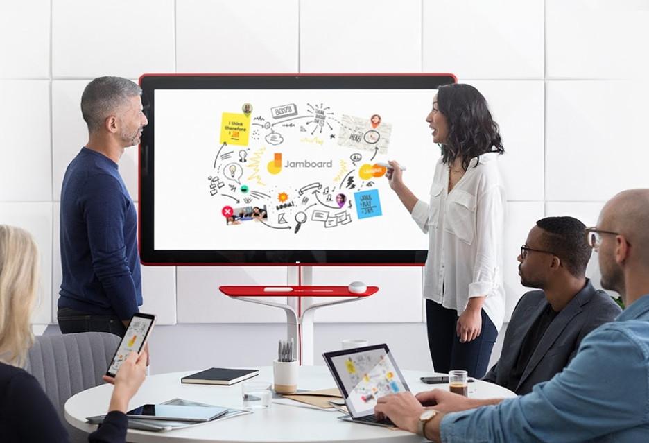 Tablica Jamboard - Google chce usprawniać współpracę