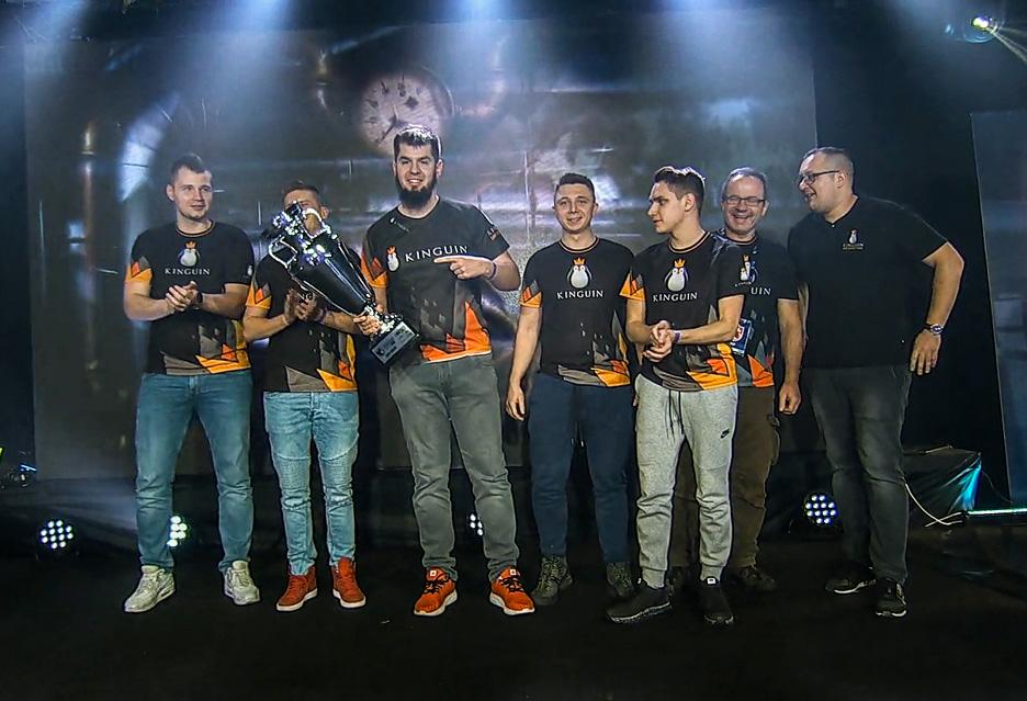 Team Kinguin zwycięża w Polskiej Lidze Esportowej