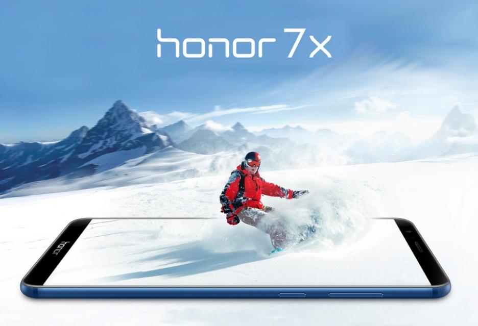 Europejska premiera smartfona Honor 7X