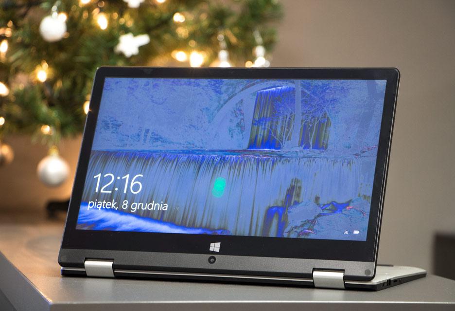Kiano Elegance 11.6 360 - wideorecenzja konwertowalnego laptopa
