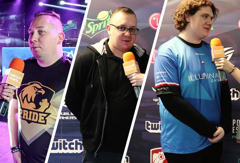 Finały drugiego sezonu Polskiej Ligi Esportowej -  wywiady