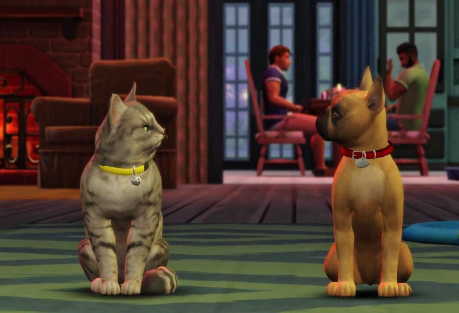 The Sims 4: Psy i koty – simsy spadają na cztery łapy | zdjęcie 1
