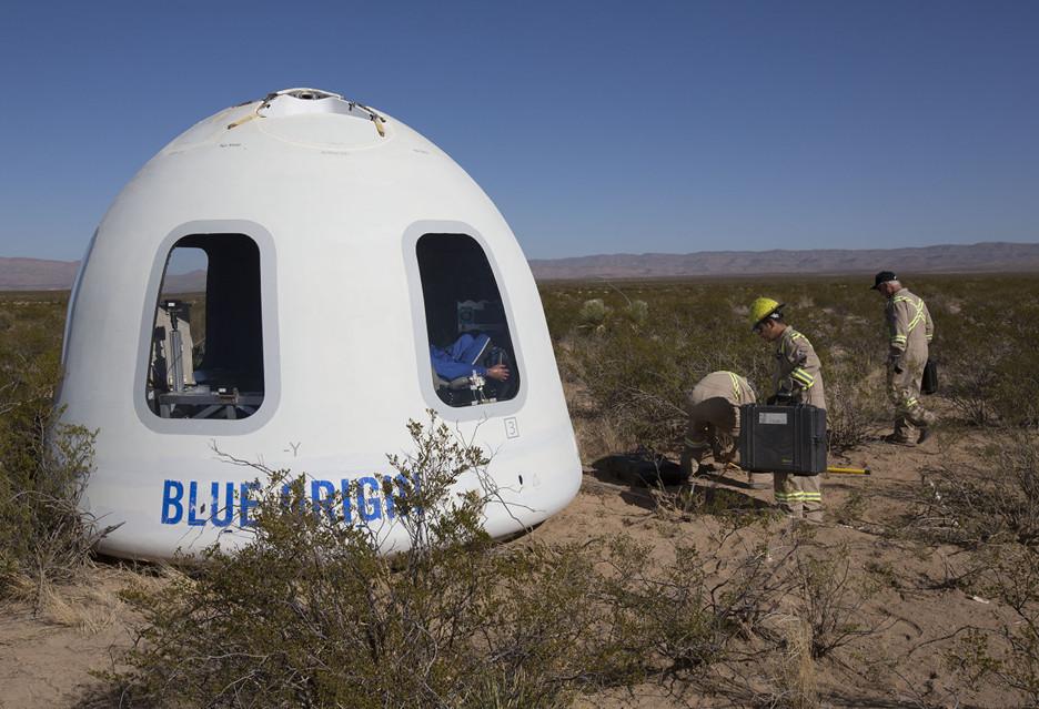 Blue Origin pokazuje, co (już niedługo) zobaczy kosmiczny turysta