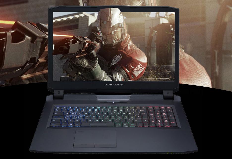 Dream Machines X1080 - wszechmocny laptop do gier | zdjęcie 1
