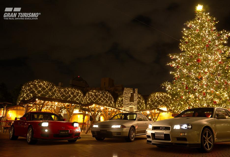 Świąteczna aktualizacja GT Sport - tryb dla jednego gracza i 12 nowych aut