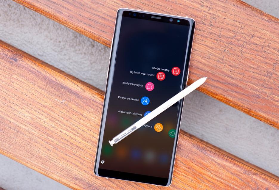 Problemy z Galaxy Note 8 - całkowicie rozładowany smartfon może stać się bezużyteczny