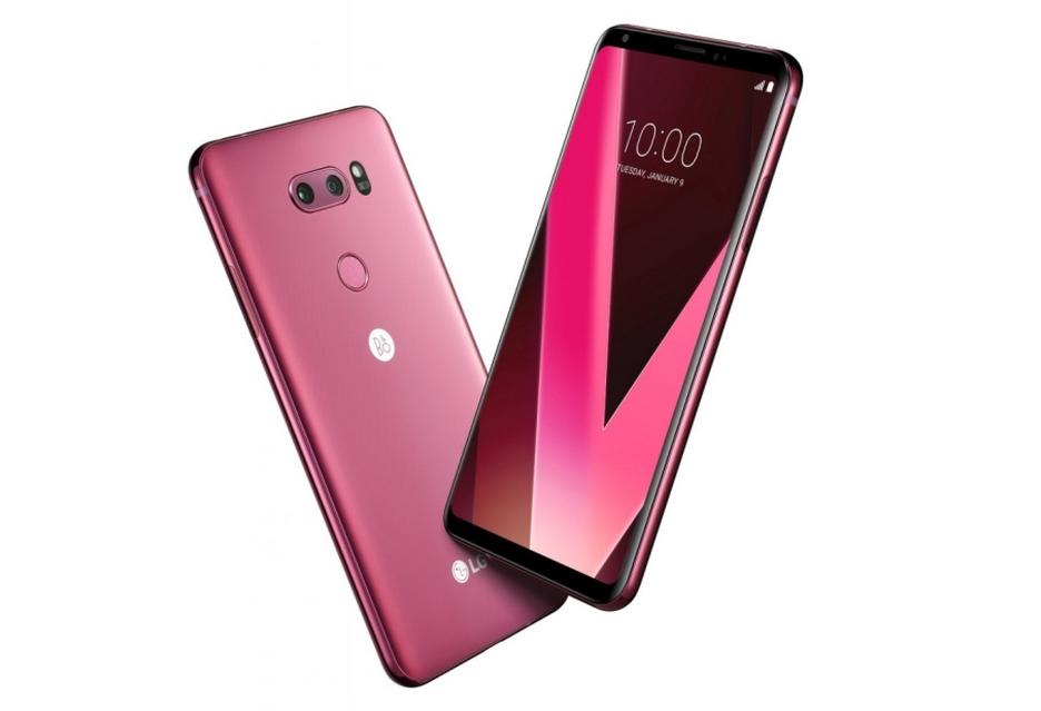 LG V30 w walentynkowej odsłonie