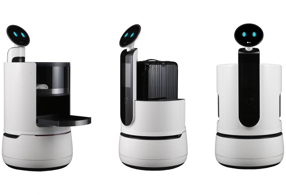 """""""Sprytne"""" roboty komercyjne od LG"""