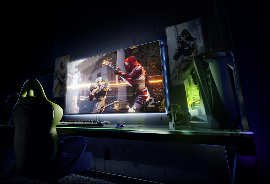 65-calowy ekran 4K HDR z G-Sync - Nvidia spełnia marzenia graczy