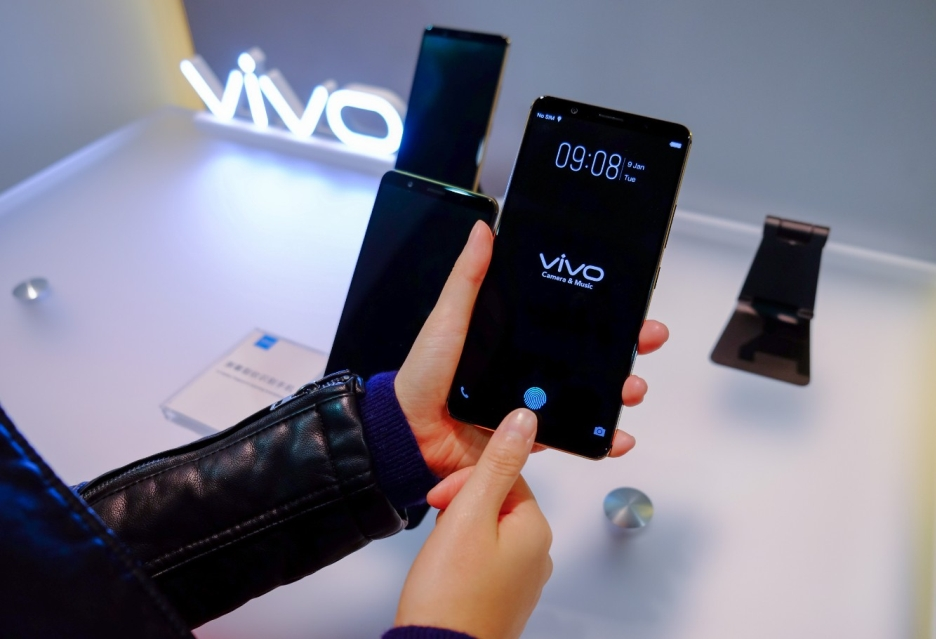 Vivo przywiozło na CES 2018 smartfona z czytnikiem linii papilarnych wbudowanym w ekran