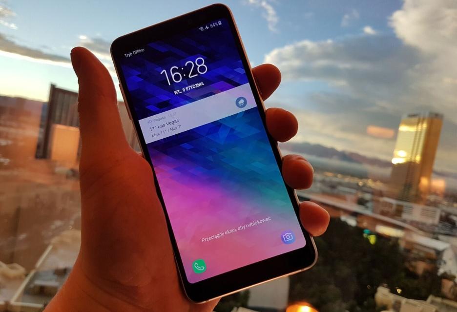 Galaxy A8 2018 - pierwsze wrażenia z Las Vegas