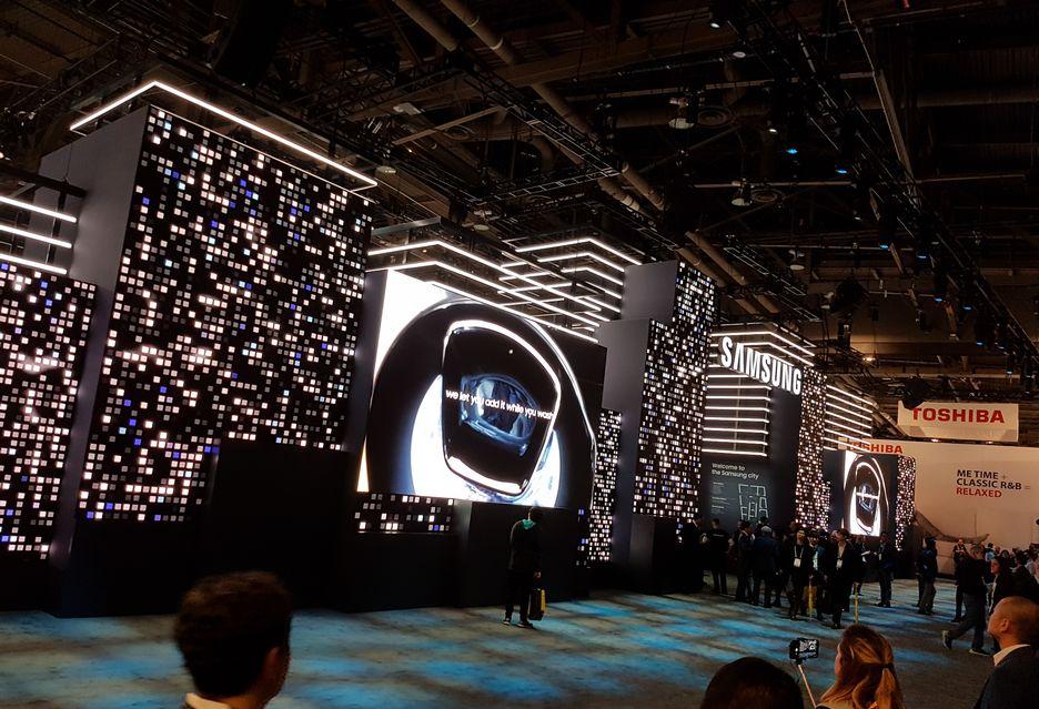 Samsung na targach CES 2018 | zdjęcie 2