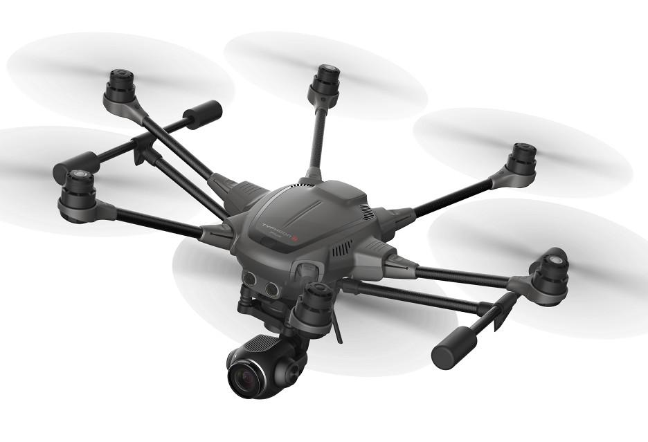 Nowe, interesujące drony Yuneec z CES 2018