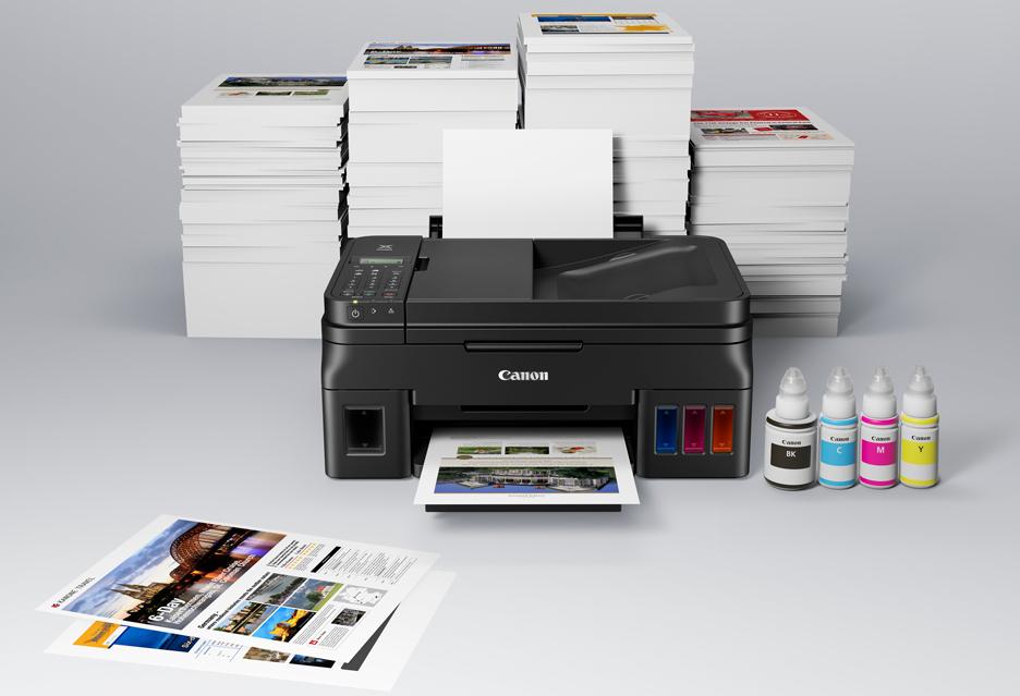 Canon odświeża serię PIXMA G - drukarek z systemem stałego zasilania