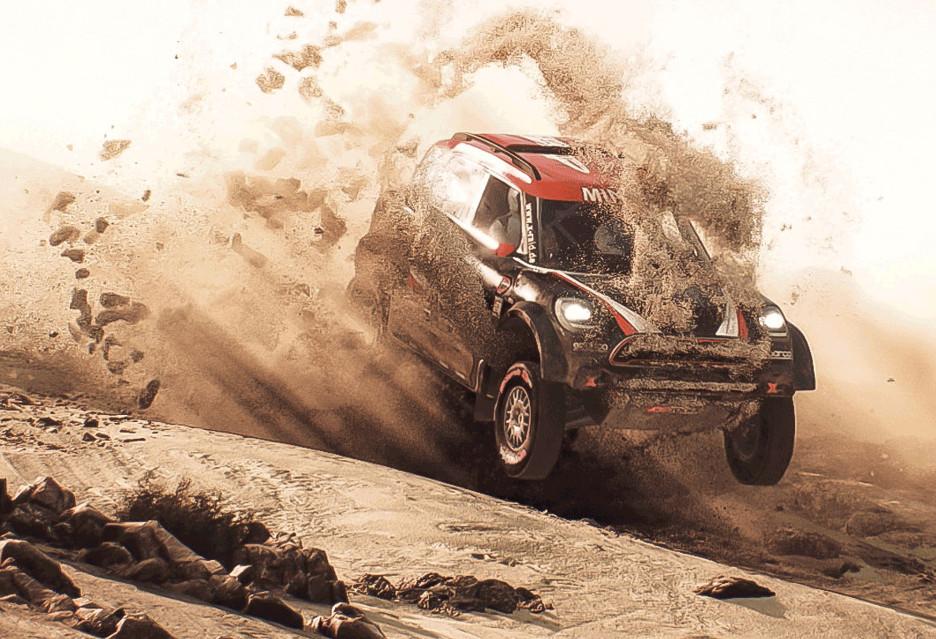 Dakar 18 - nowa gra rajdowa w drodze