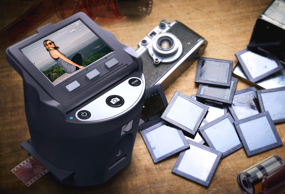 Skaner Kodak Scanza - z negatywu na kartę SD w rozsądnej cenie