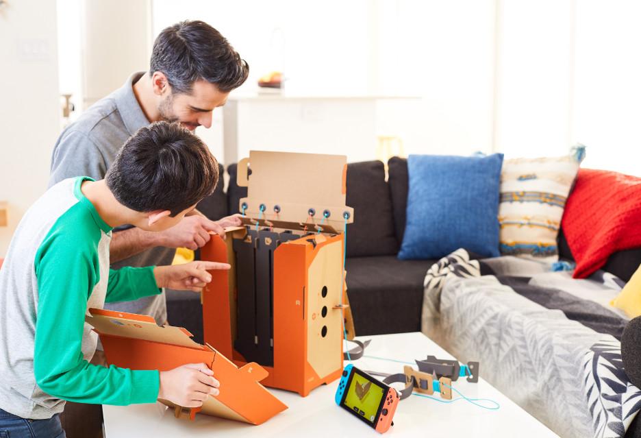 Nintendo Labo to nowa forma zabawy z Nintendo Switch i… kartonami [AKT.]