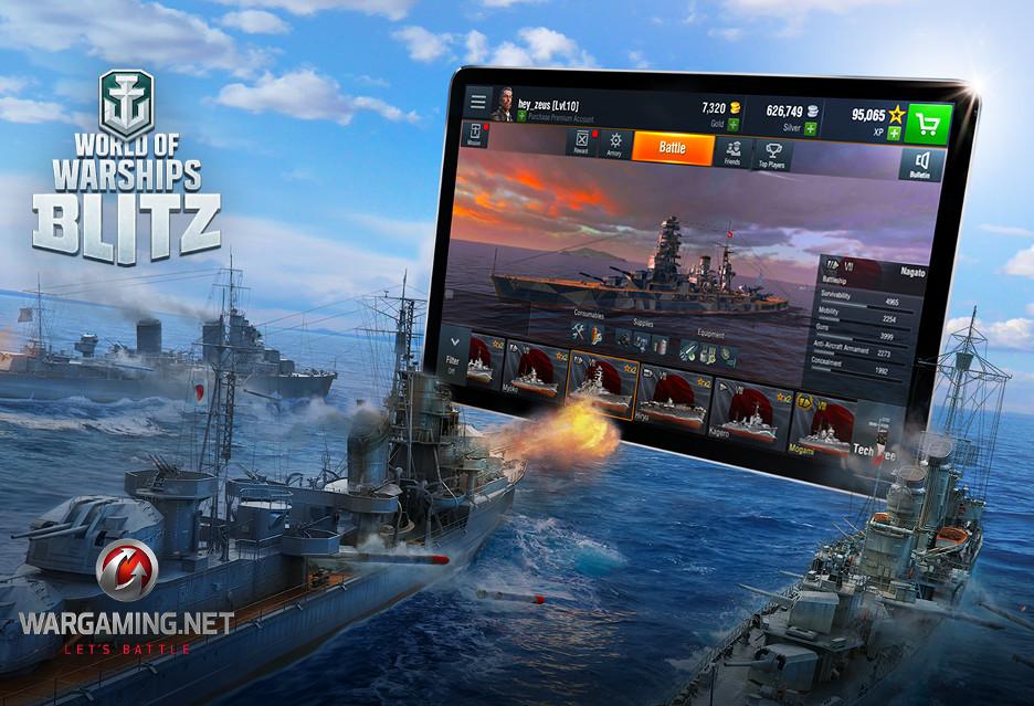 World of Warships Blitz - okręty lądują na smartfonach i tabletach