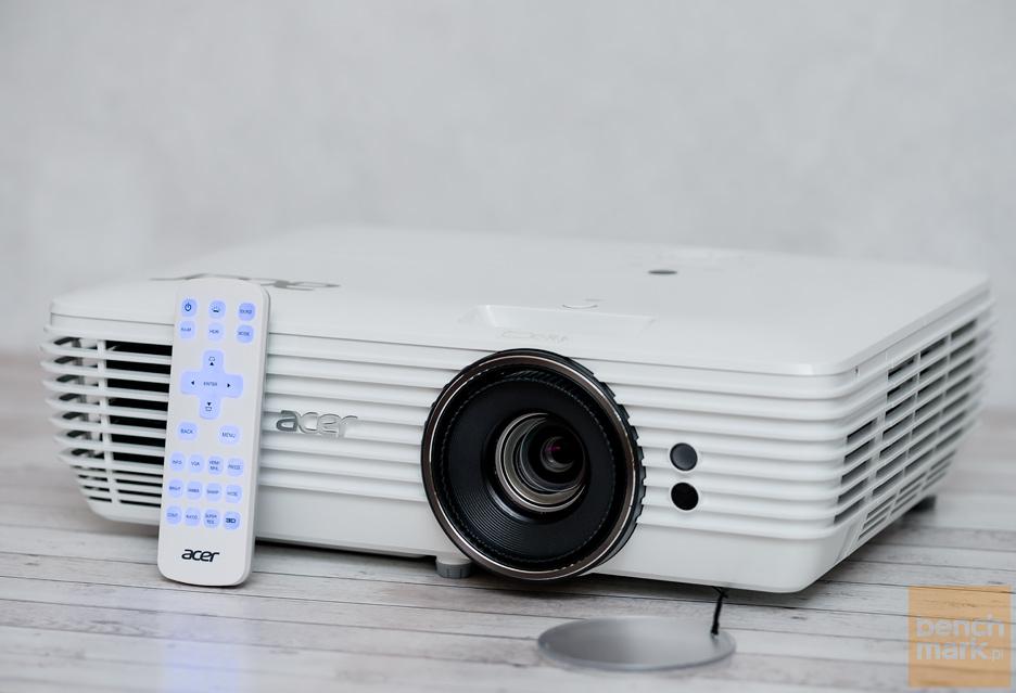 Projektor Acer H7850 - z płynnym obrazem za pan brat | zdjęcie 2
