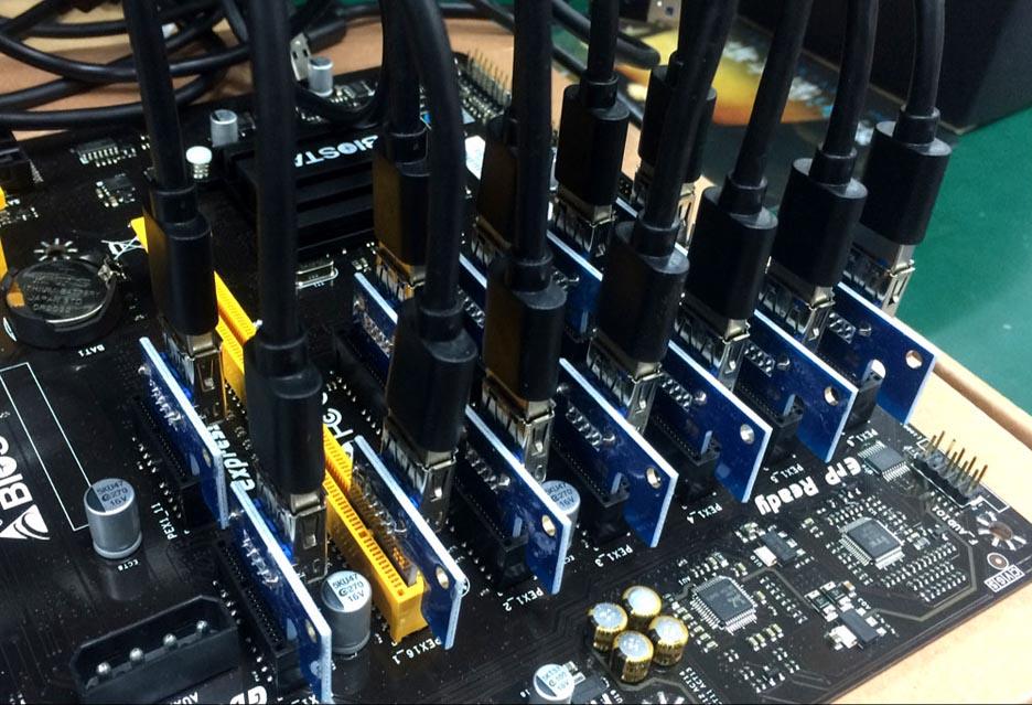 Biostar TB250-BTC PRO - podstawa koparki kryptowalut | zdjęcie 1
