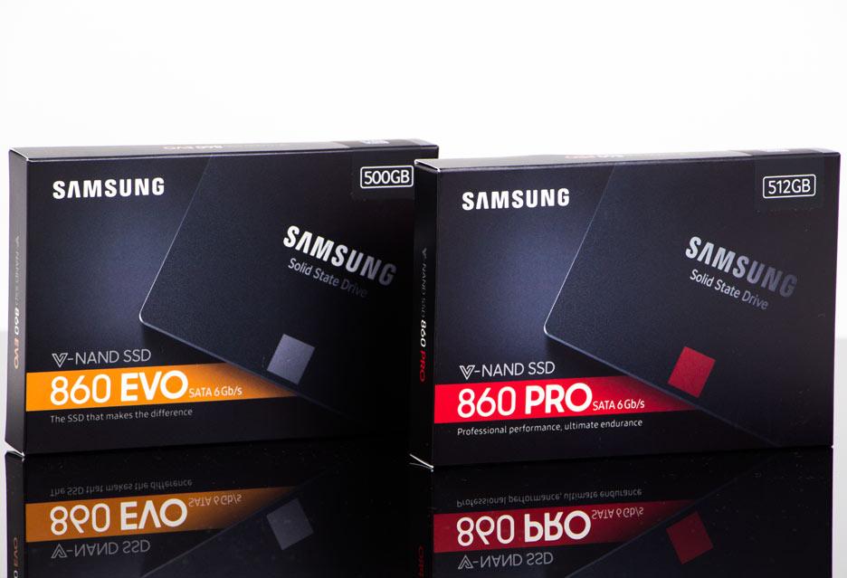 Samsung SSD 860 PRO i SSD 860 EVO - szybcy i... drodzy | zdjęcie 1