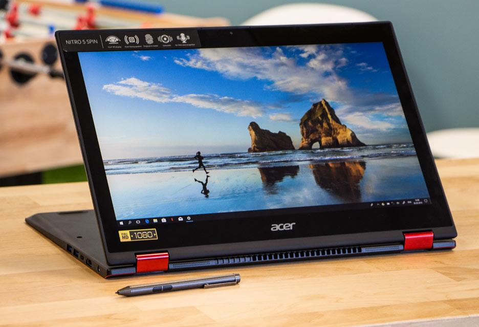 Acer Nitro 5 Spin - konwertowalny laptop do gier | zdjęcie 1