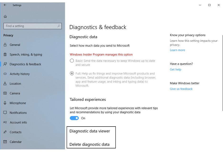 Windows 10 - zobaczymy (i usuniemy) dane diagnostyczne