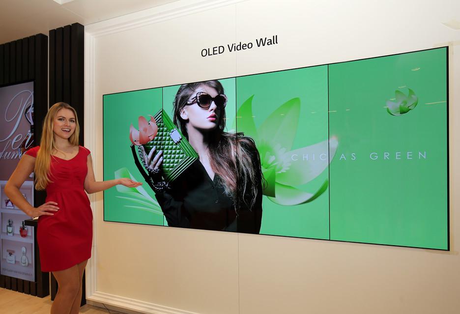 Przezroczyste i elastyczne panele OLED - nowości LG na ISE 2018