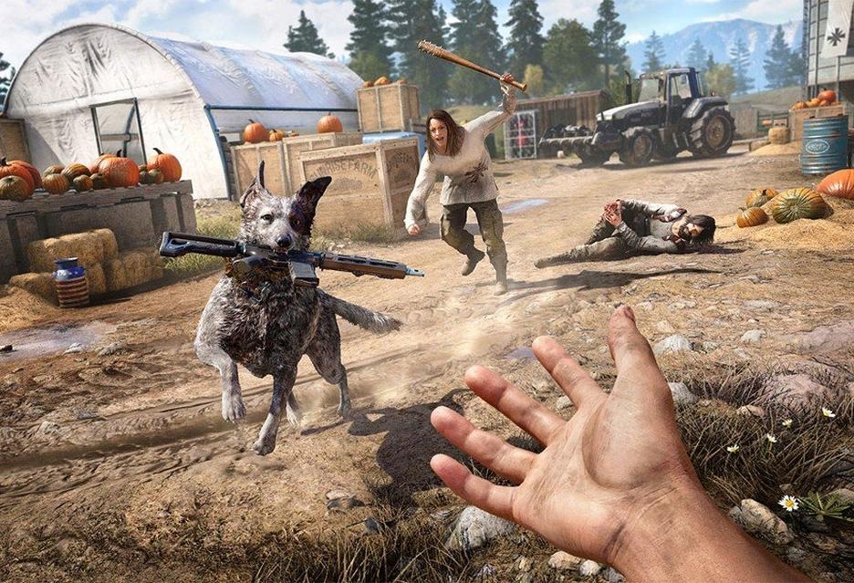 Nowe zwiastuny Far Cry 5 przybliżają pomocników głównego bohatera
