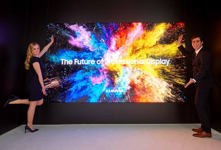 Samsung pokazał The Wall i inne wyświetlacze dla profesjonalistów