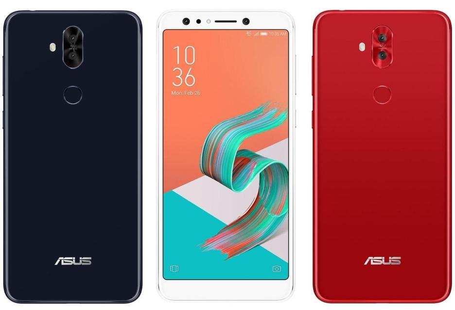 Asus ZenFone 5 Lite z wyświetlaczem 18:9 i czterema aparatami
