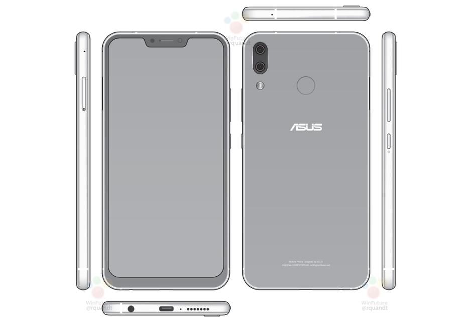 Asus ZenFone 5 może mocno przypominać iPhone'a X (tak, chodzi o wyświetlacz)