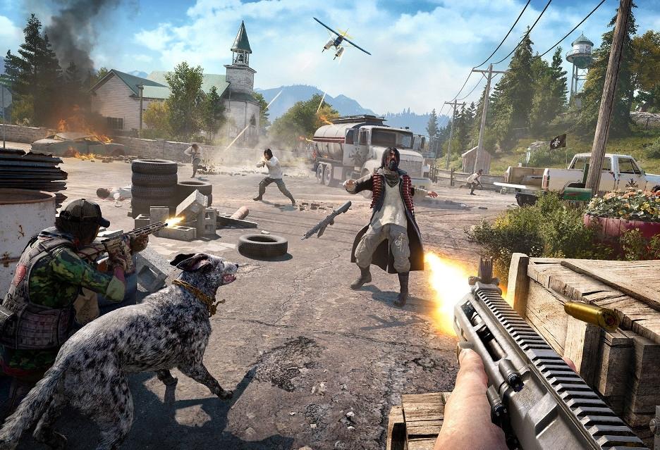 Różne metody walki na nowym materiale wideo z Far Cry 5