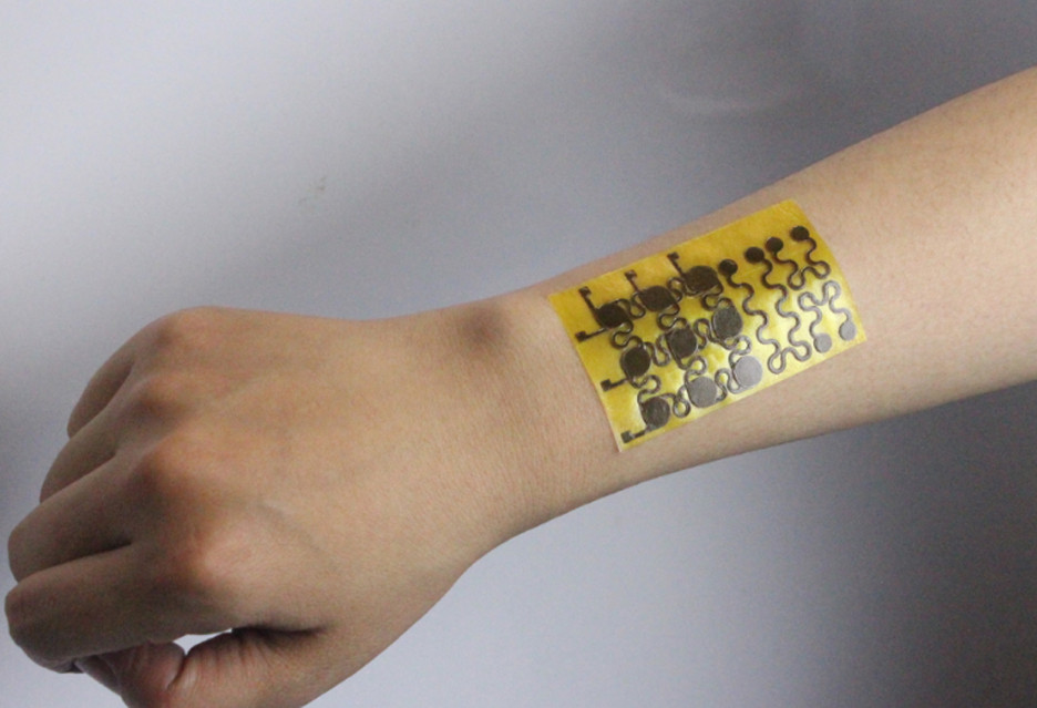 E-skóra, która leczy się sama